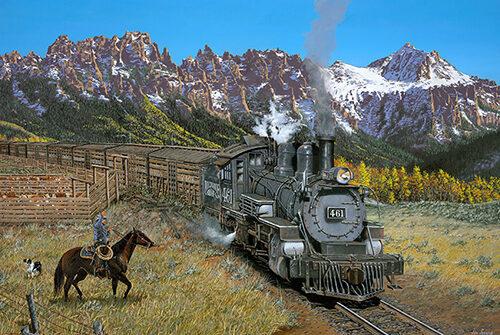jordanart – Train Art, Train Art For Sale, Train Art